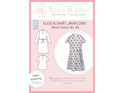 Papierschnittmuster lillesol basics No.69 Mädchen Kleid&Shirt Miaflora
