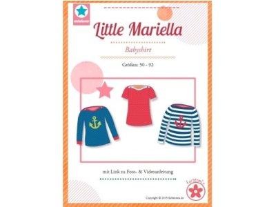 Schnittmuster Little Mariella Babyshirt