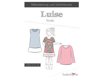 Papier-Schnittmuster Fadenkäfer - Luise - Kinder