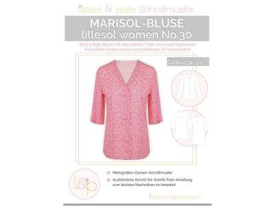 Papierschnittmuster lillesol women No.30 Marisol-Bluse