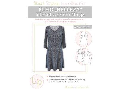 Papierschnittmuster lillesol women No.34 Kleid Belleza