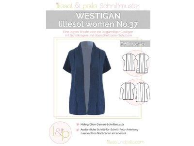 Papierschnittmuster lillesol women No.37 Westigan