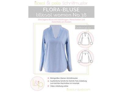 Papierschnittmuster lillesol women No.38 Flora-Bluse