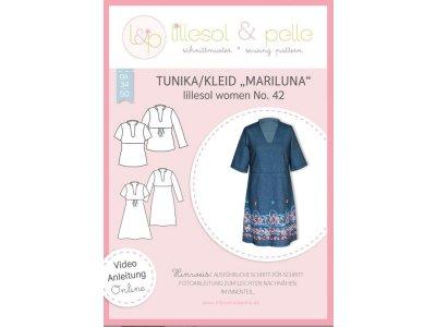 Papierschnittmuster lillesol women No.42 Tunika / Kleid Mariluna