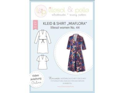 Papierschnittmuster lillesol women No.44 Shirt Miaflora