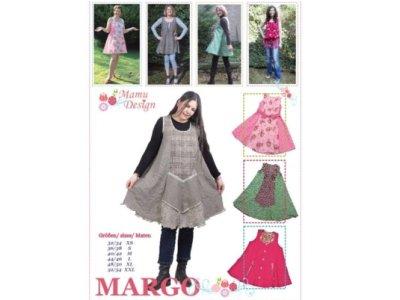 Schnittmuster MARGO Kleid und Tunika