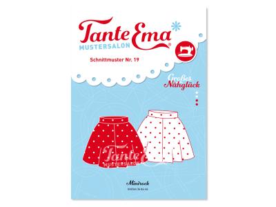 Papierschnittmuster Tante Ema - Minirock - Damen