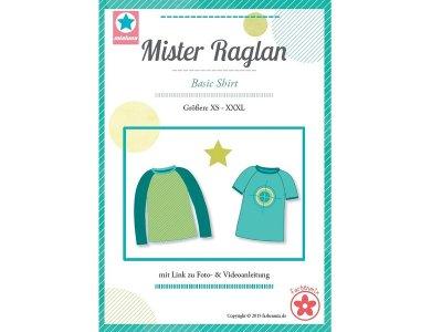 Schnittmuster Mister Raglan Basic-Shirt