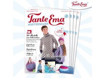 Papierschnittmuster Zeitschrift Tante Ema MOOK Nr. 6/2016