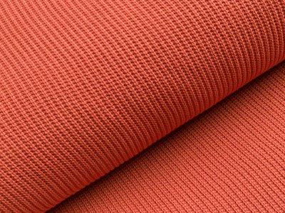 Strickstoff Baumwolle - uni rost