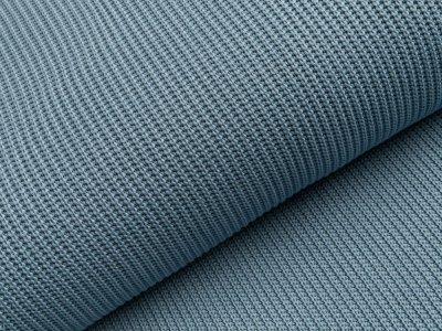 Strickstoff Baumwolle - uni blau