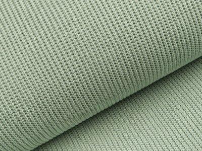 Strickstoff Baumwolle - uni helles mint