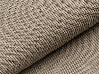 Strickstoff Baumwolle - uni taube