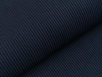 Strickstoff Baumwolle - uni navy