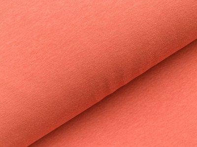 Alpenfleece meliert - orange