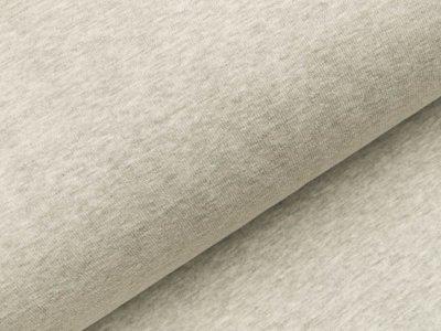 Alpenfleece meliert - grau