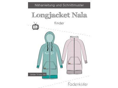 Papier-Schnittmuster Fadenkäfer - Longjacket NALA - Kinder