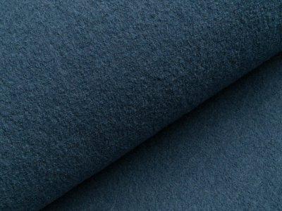 Walkloden - uni jeansblau