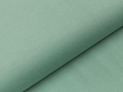 Jersey uni pastell grün