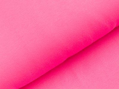 Angerauter Sweat - uni pink