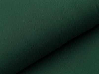 Angerauter Sweat - uni flaschengrün