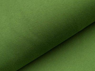 Angerauter Sweat - uni grün