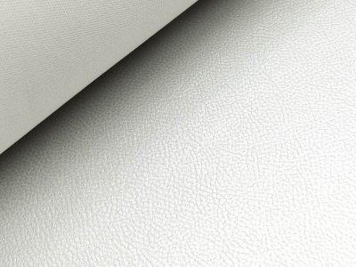 Struktur Kunstleder Metallic - silber