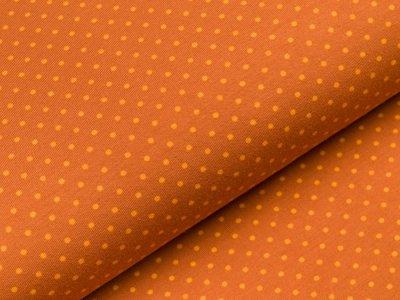 Jersey - kleine Punkte - rost/gelb