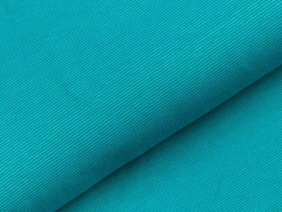 Jersey - schmale Streifen - helles petrol/dunkles petrol