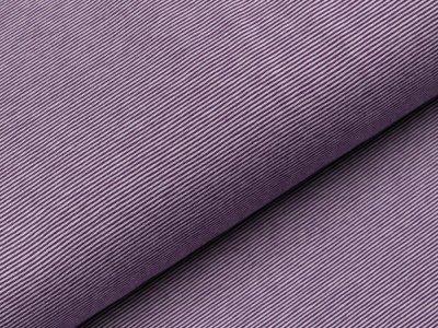 Jersey - schmale Streifen - helles lila/dunkles lila