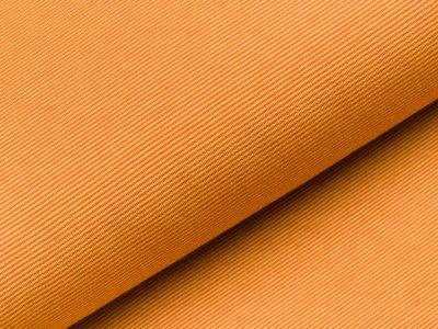 Jersey - schmale Streifen - senfgelb/rost