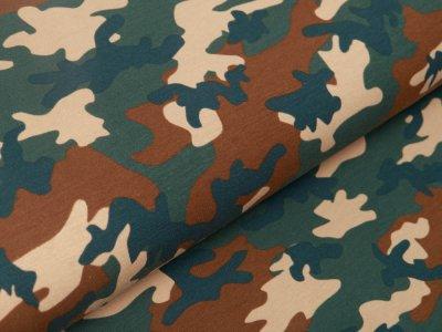 Jersey - Camouflage - grün