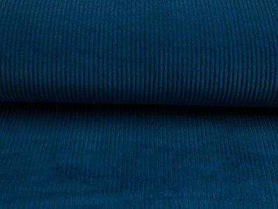 Breitcord uni cobaltblau