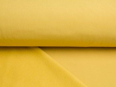 Jackenstoff Nano-Softshell gelb