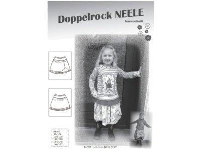 Schnittmuster NEELE Doppelrock Farbenmix