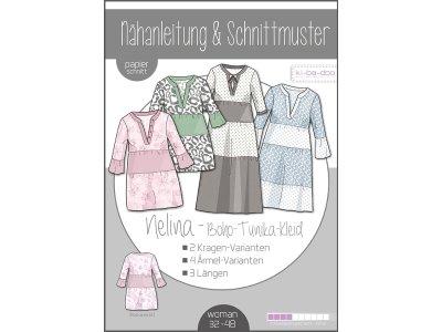 Papierschnittmuster ki-ba-doo Kleid/Tunika NELINA - Damen
