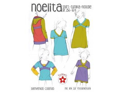 Schnittmuster Noelita Shirt, Tunika, Hoodie
