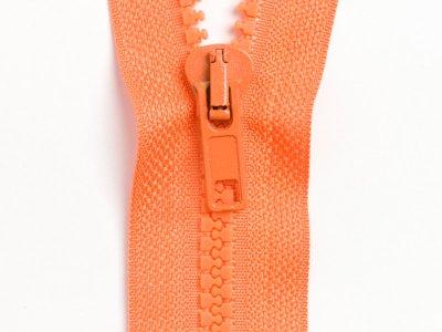 Reißverschluss teilbar 75 cm - orange