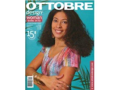 Reprint Ottobre 2/2015 Woman englisch o.  spanisch mit deutscher Anleitung