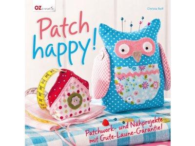 """Buch """"Patch happy! Patchwork und Nähprojekte"""""""