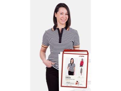 Schnittmuster by pattydoo Poloshirt & Kleid LESLIE - Damen