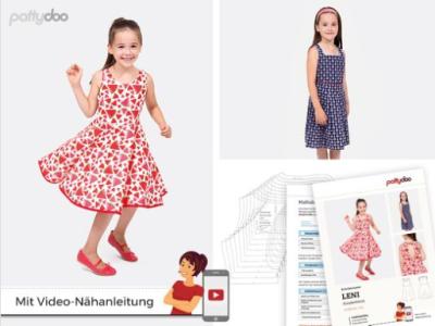 Papierschnittmuster pattydoo Kleid LENI - Mädchen