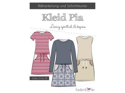 Papier-Schnittmuster Fadenkäfer PIA Kleid Damen