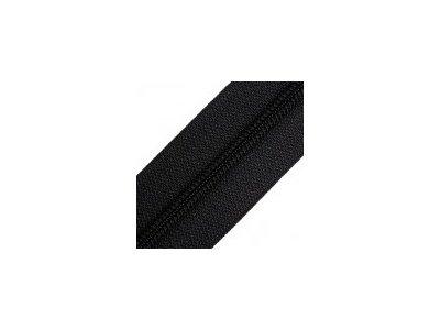 Endlosreißverschluss 25 mm - schwarz