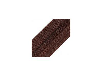 Endlosreißverschluss 25 mm - dunkles braun