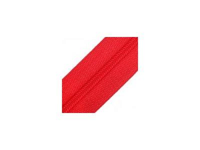 Endlosreißverschluss 25 mm - rot