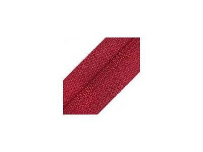 Endlosreißverschluss 25 mm - rubinrot