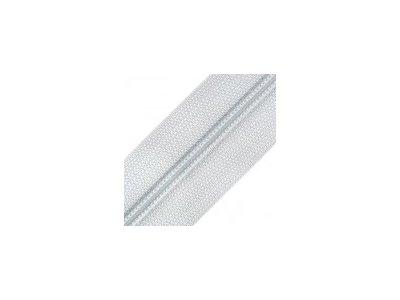 Endlosreißverschluss 25 mm - helles grau