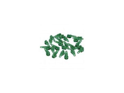 Slider/Automatikschieber 5 Stück  - grün