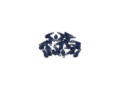 Slider/Automatikschieber 5 Stück  - marineblau